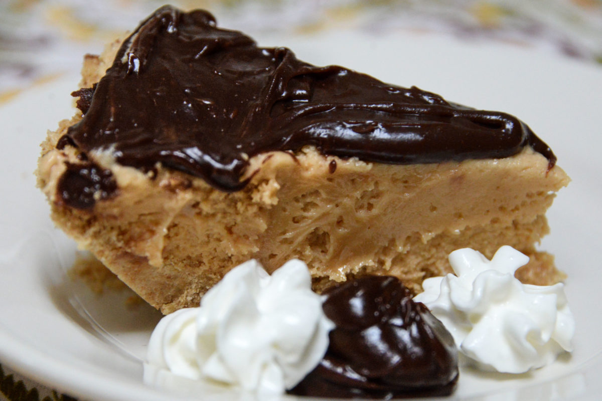 slice of peanut butter pie